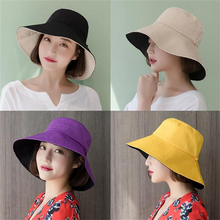 Fashion Cotton Printed Women Tweed Bucket Hat