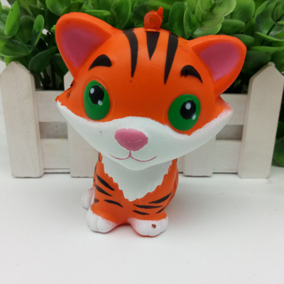 Premium Quality OEM Tiger Stress Ball Animal