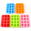 Wholesale set of silicone ice cube tray, Christmas Mold Ice Cube Silicone Tray