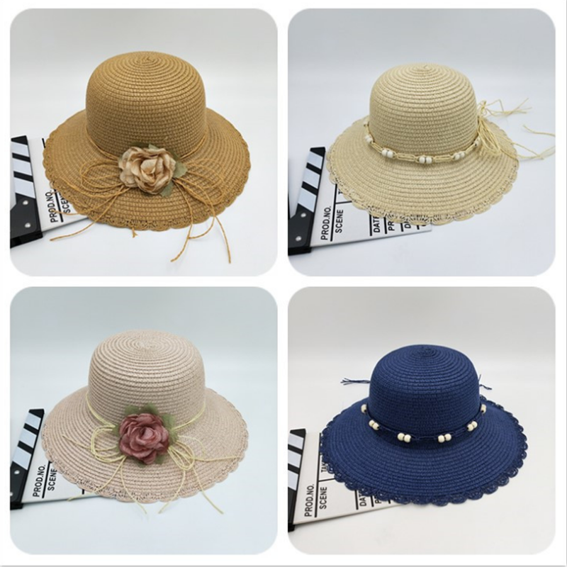 Cool Straw Bucket Straw Hats For Women