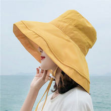 New Fashion Bucket Hats Double Sided Reversible Fisherman Hat
