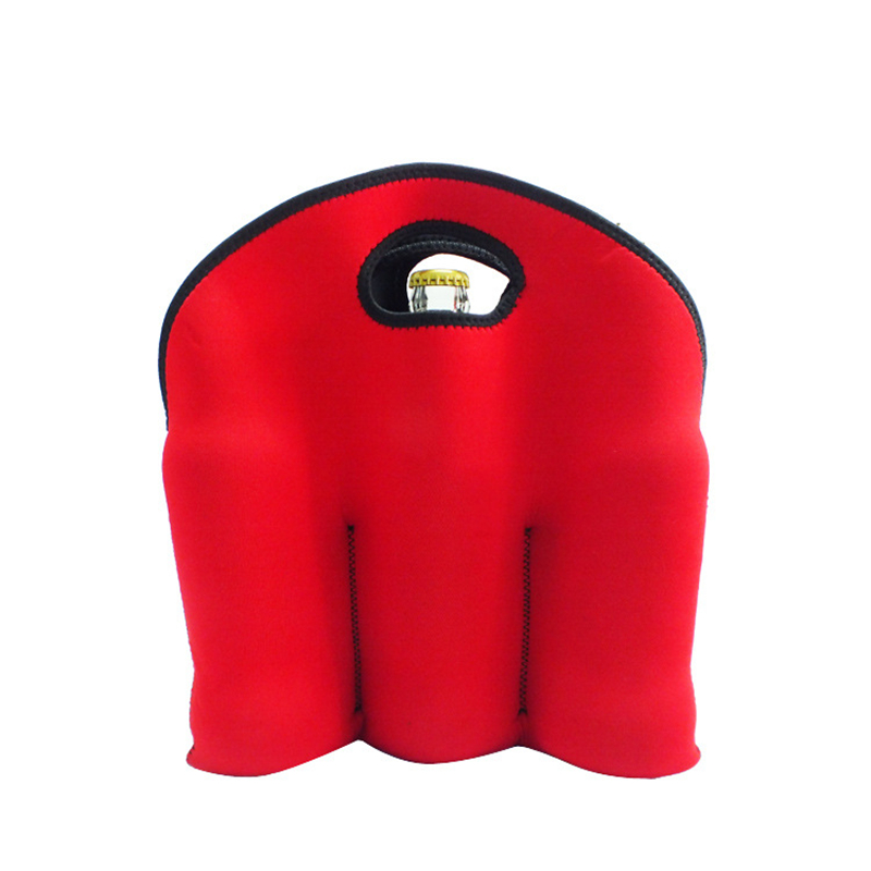 Custom Neoprene Single Beer Bottle Cooler Wine Bottle Foam Sleeve Net