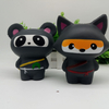 Cute Animal Shaped Stress Balls, PU Foam Animal Antistress Toy, Bear Animal Stress Ball
