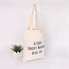 Promotional Blank Cotton Tote Bags / Canvas Cotton Shopping Bag / Cheap Cotton Bag
