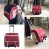 Comfortable Capsule Pet Travel Backpack Durable Pet Trolley Backpack